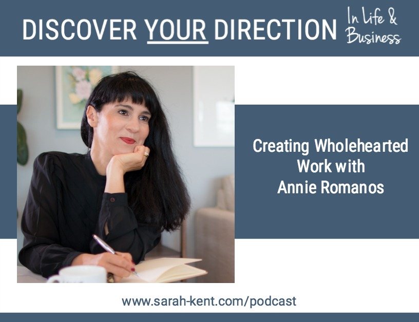 Talking Discover Your Direction In Life & Business With Annie Romanos